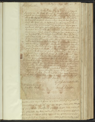 Estate Letter From Joseph Martin To His Brother Samuel Martin f.36